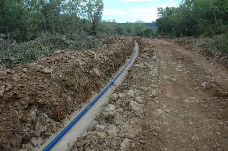 Saint-Gobain PAM en el suministro de agua de Barcabo, Huesca
