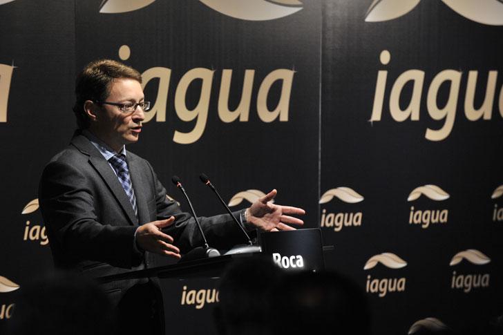 Xavier Torras, director de la Fundación We Are Water recoge el premio IAgua