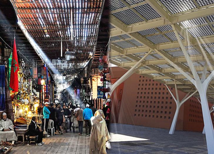 La Universidad Politécnica Mohamed VI instala una pérgola fotovoltaica