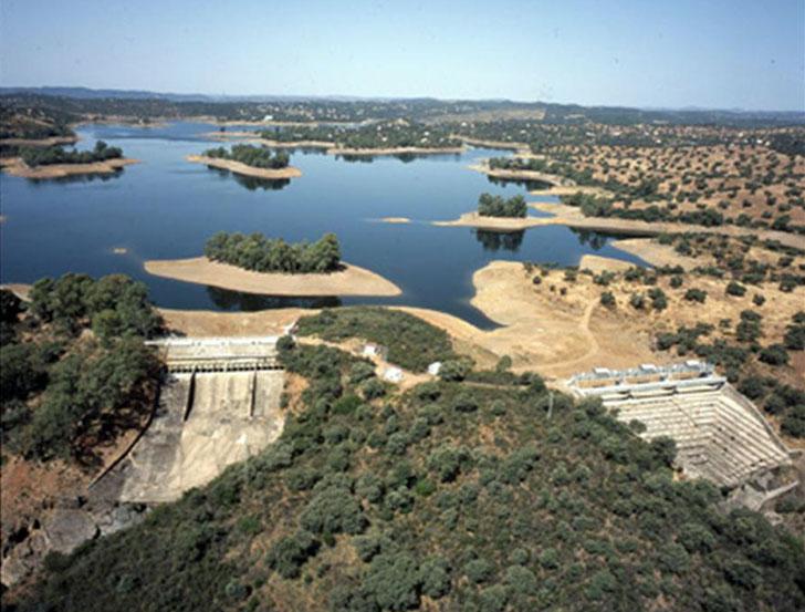 Cala, central hidroeléctrica de Endesa