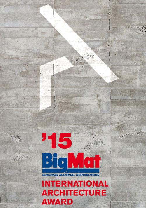 Segunda edición del Premio Internacional de Arquitectura BigMat