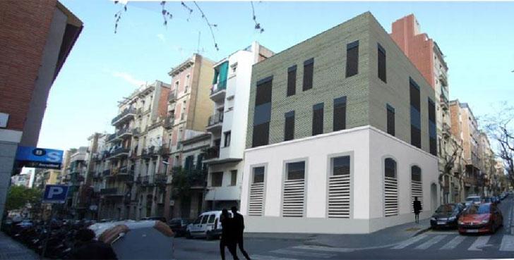 Vivienda plurifamiliar en altura en Barcelona, Arquima