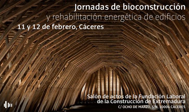 Jornadas gratuitas de bioconstrución y rehabilitación energética