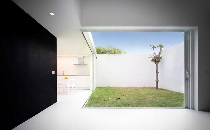 """""""casa de la violinista"""" de OAM Arquitectos en Málaga."""