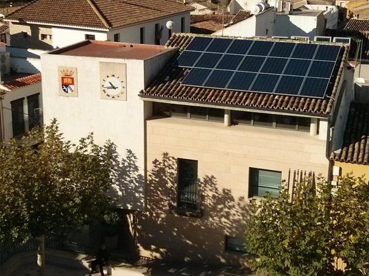 Autoconsumo fotovoltaico en el Ayuntamiento de Lliber, Alicante