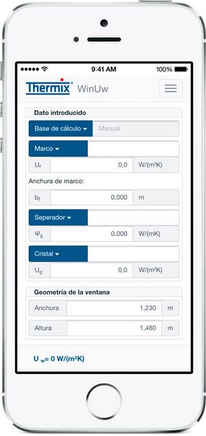 Ensinger presenta una app para calcular Uw en ventanas