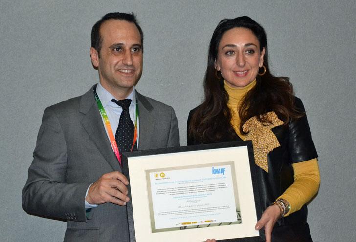 Knauf entrega el Mejor Proyecto Global en Sostenibilidad a NH Hoteles