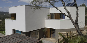 B-Garraf, vivienda industrializada con estructura en madera
