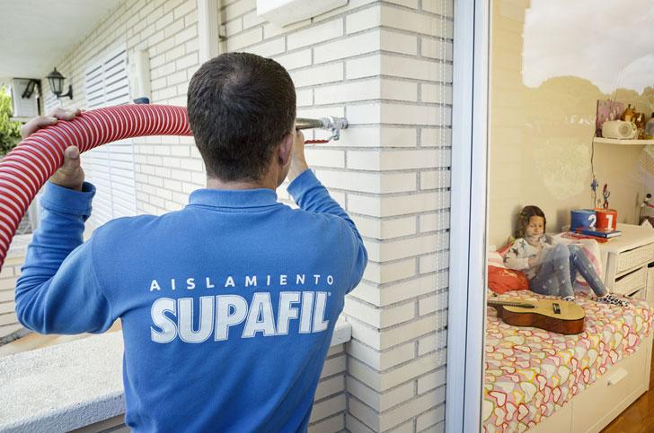 Instalación de Supafil