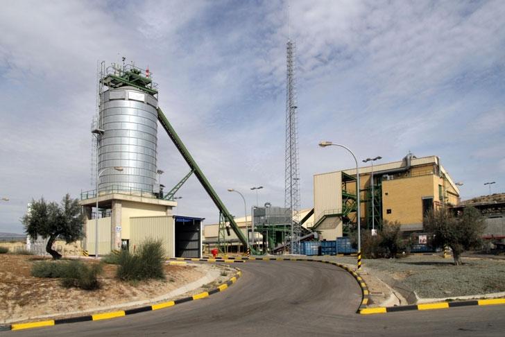 Planta de reciclaje y tratamiento de residuos de Geocycle en Albox, Almería