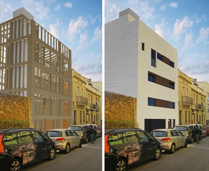 Construcción de la vivienda y resultado del mismo