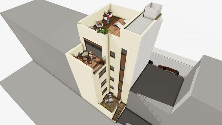 Casa de Madera de House Habitat