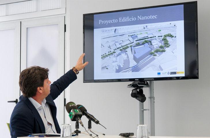 Presentación del edificio Nanotec en la Universidad de La Laguna