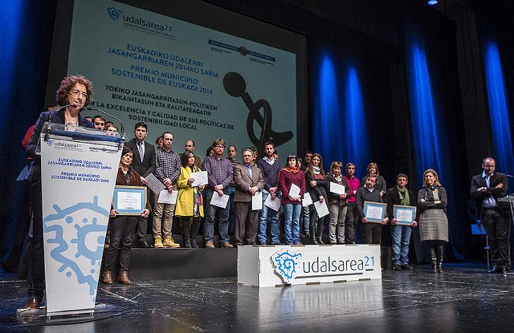 Durango Premio Municipio Sostenible de Euskadi