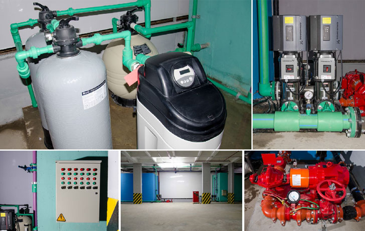 Tratamiento de agua eficiente en Biohotel