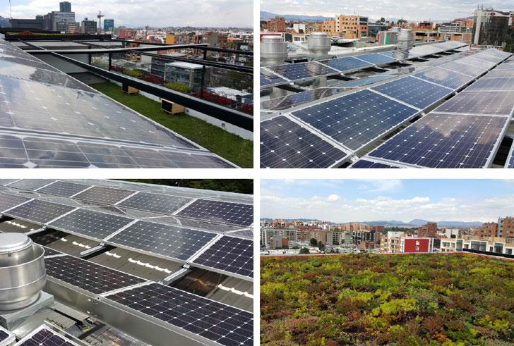 Paneles fotovoltaicos de Biohotel