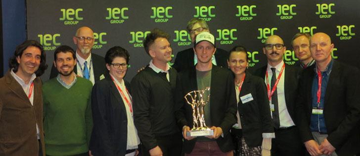 Acciona recibe el galardón de la JEC Company