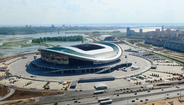 Estadios sostenibles para Rusia 2018.