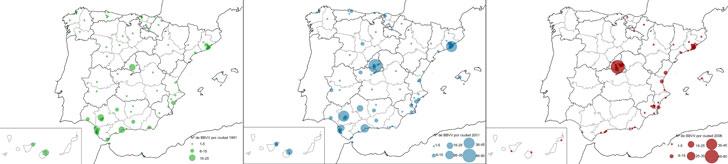 Atlas de Barrios Vulnerables en España.
