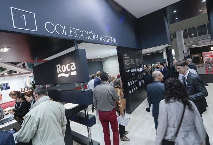 Colección Inspira de Roca en Cosntrumat.