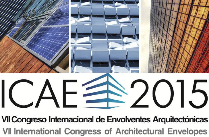 Cartel del VII Congreso Internacional de Envolventes Arquitectónicas.
