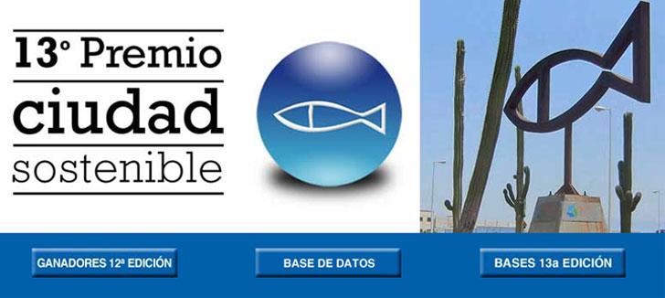 Cartel 13ª edición de los Premios Ciudad Sostenible.