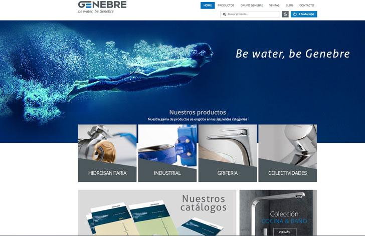 Nueva web de Genebre.