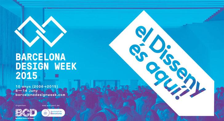 Cartel de la Barcelona Design Week.