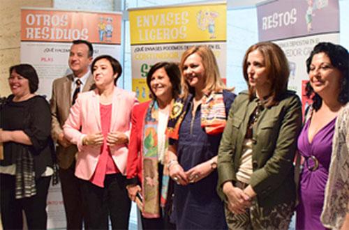 El Compromiso del reciclaje en el Gobierno Andaluz.