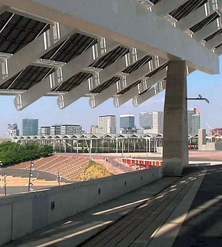 Energía eléctrica en Barcelona.