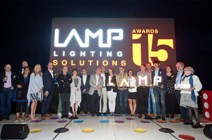 Ganadores de los Premios Lamp Lighting Solutions 2015.
