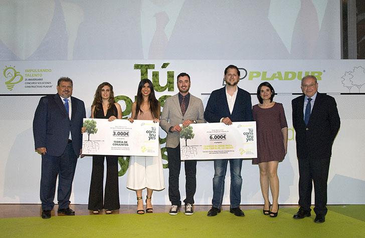 Ganadores del concurso Pladur.