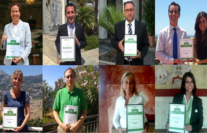 Premios sostenibles recibidos por Fuerte Hoteles.