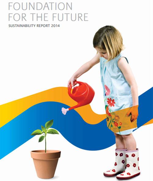 Informe de sostenibilidad de SABIC.