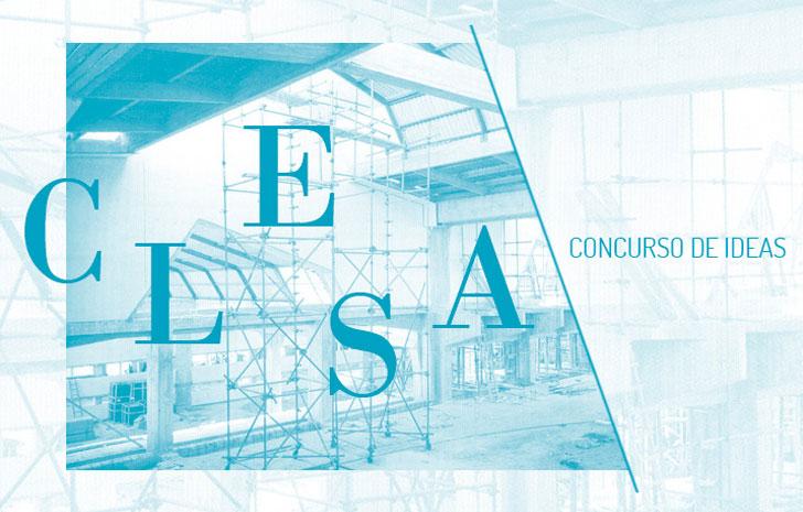 Cartel del concurso de rehabilitación CLESA.