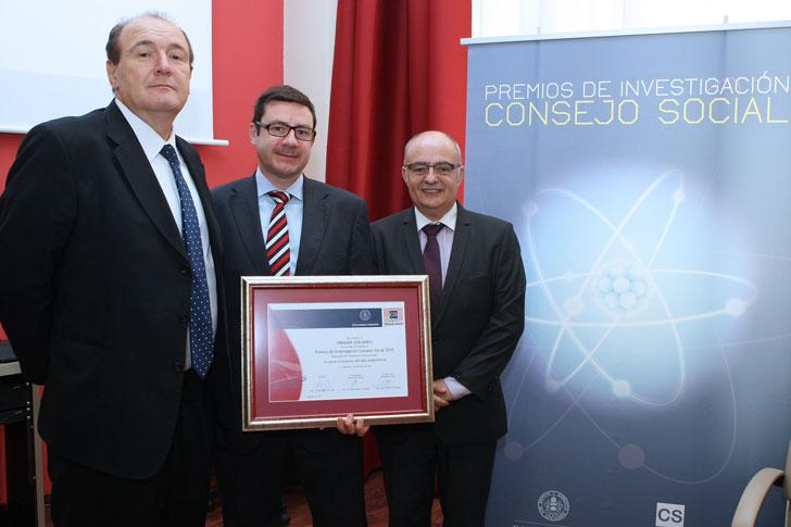 Entrega del Premio De Investigación 2015.