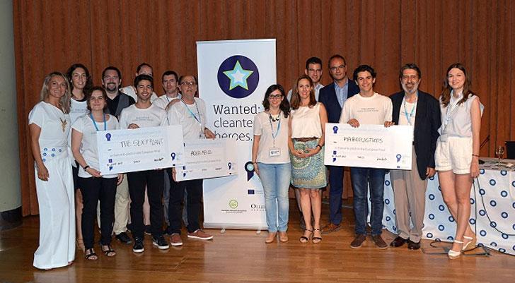 Seleccionados del Climate Launchpad en Valencia.