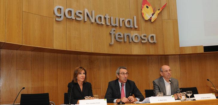 Ponentes del curso de Energía de Gas Natural Fenosa.