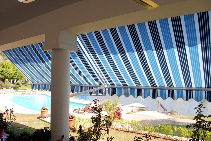 Lona con protección solar Swella Sunvas.