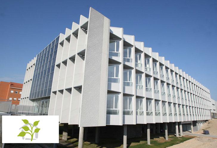 El edificio Lucia obtiene las cinco hojas verdes.