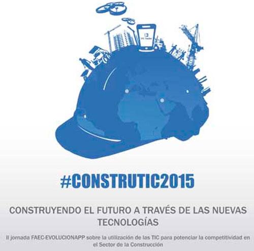 Cartel de Construtic 2015.