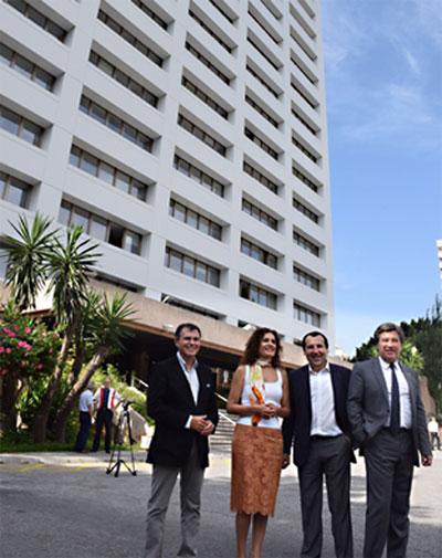 La Junta de Andalucía mejora energéticamente el edificio de usos múltiples de Málaga.