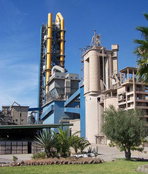 Fábrica de cemento de FYM.