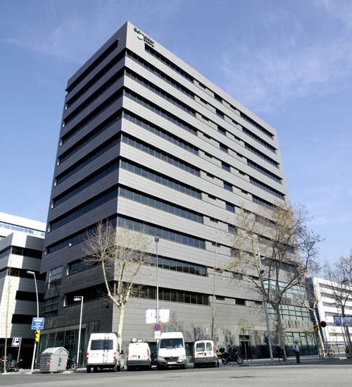 Sede de Schneider Electric en Barcelona.