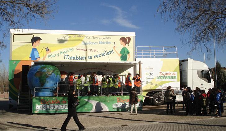Escuela de Reciclaje de Ambilamp.