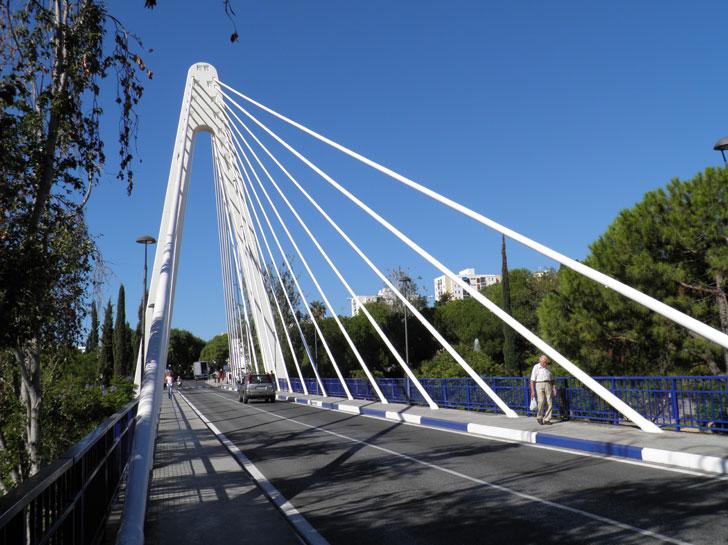 Puente Cristo del Amor, en Marbella, tras la rehabilitación.