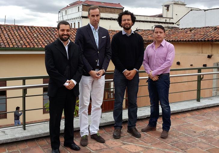 Equipo del comité de seguimiento del proyecto.