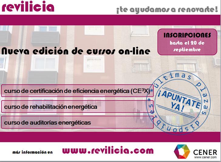 Curso de CENER en eficiencia energética.