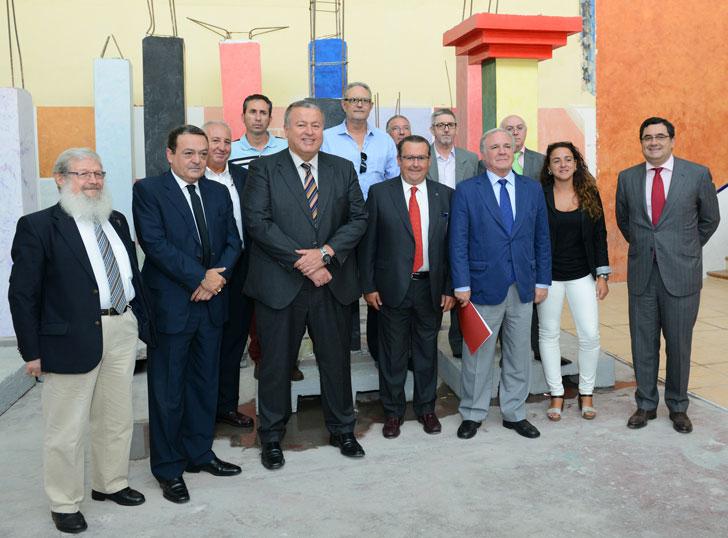 Inauguración nueva sede Fundación Laboral en Murcia.