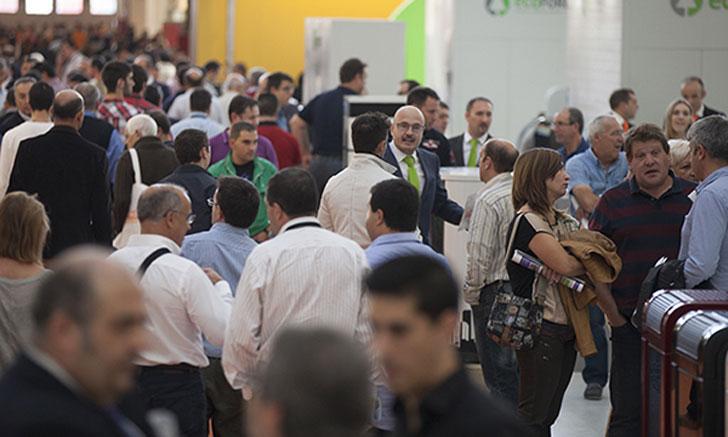 Público en Expobiomasa.